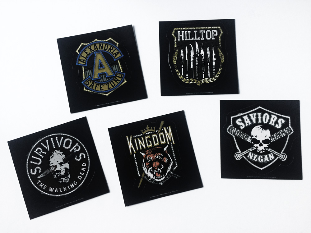 TWD supply drop December 2017 - stickers