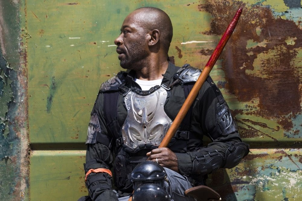 TWD 8x01 - Morgan