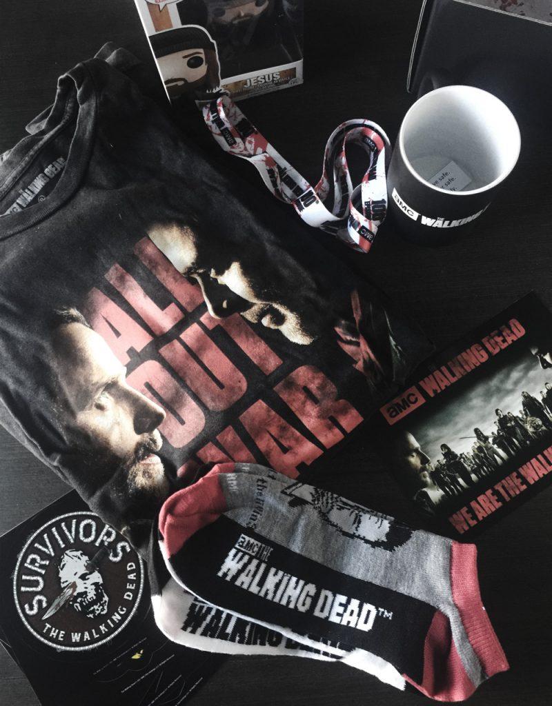 The Walking Dead Supply Drop - December 2017 Unboxing