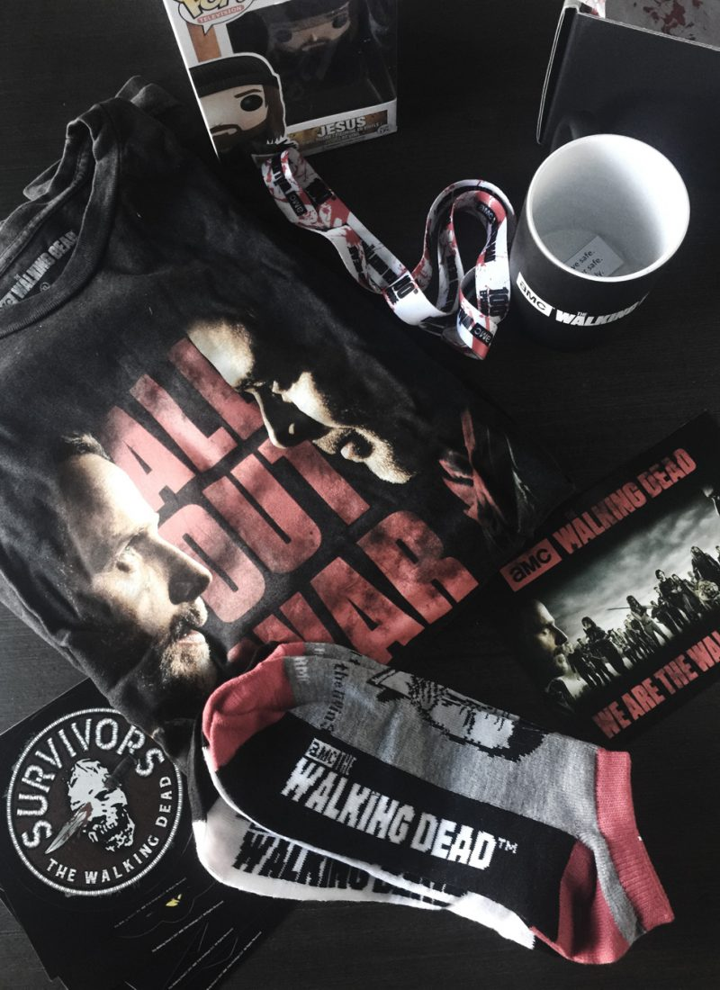 'The Walking Dead' Supply Drop | December 2017 Unboxing + Review