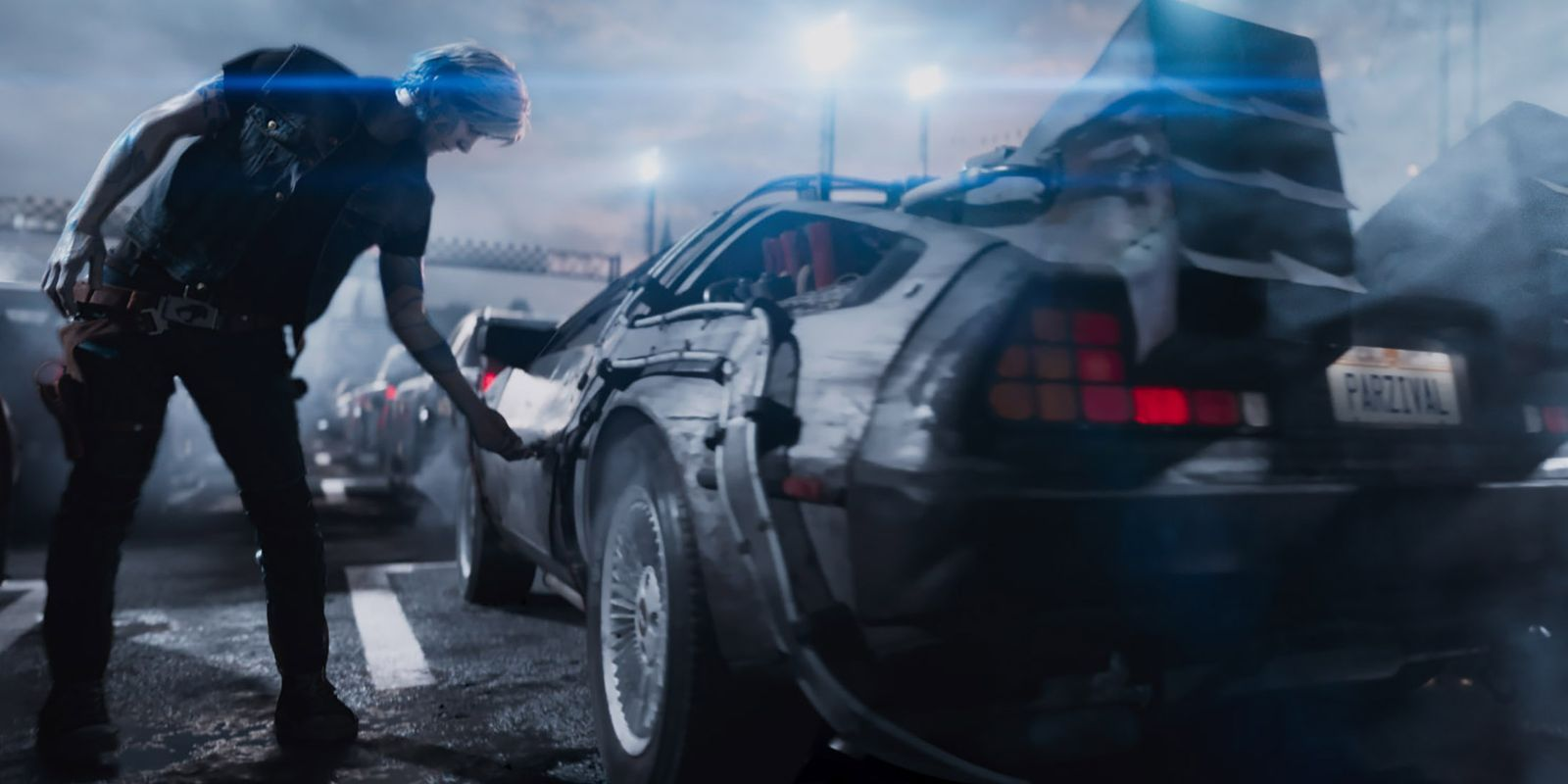 Ready Player One - DeLorean