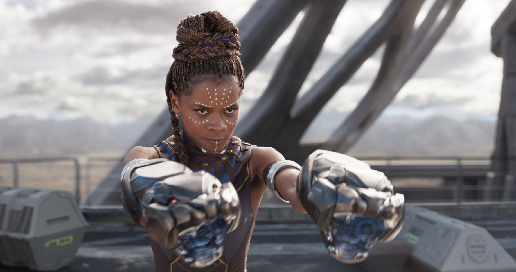 Shuri is ready to fight