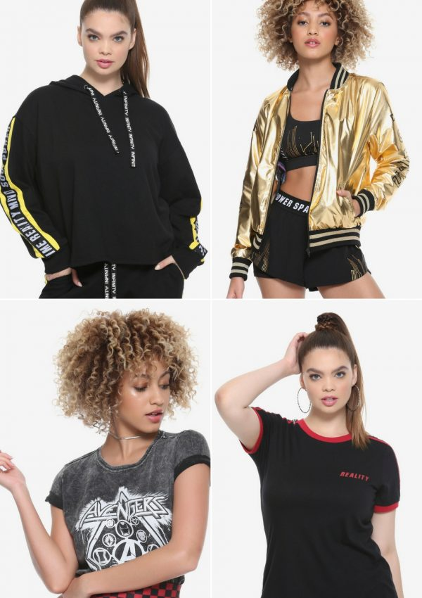new avengers infinity war heruniverse gear at hot topic