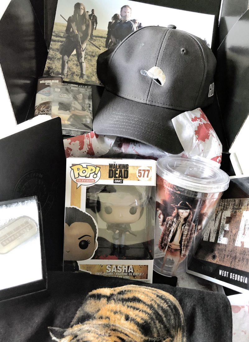 The Walking Dead Supply Drop | April 2018 Unboxing + Review
