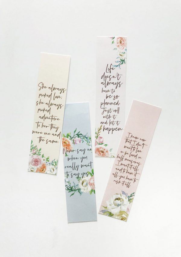 'To All The Boys I've Loved Before' Printable Bookmarks