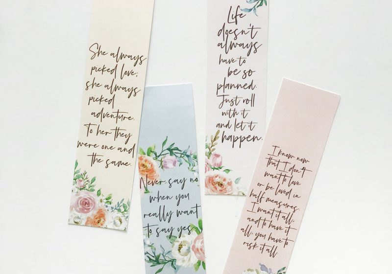 To All The Boys I've Loved Before inspired bookmarks