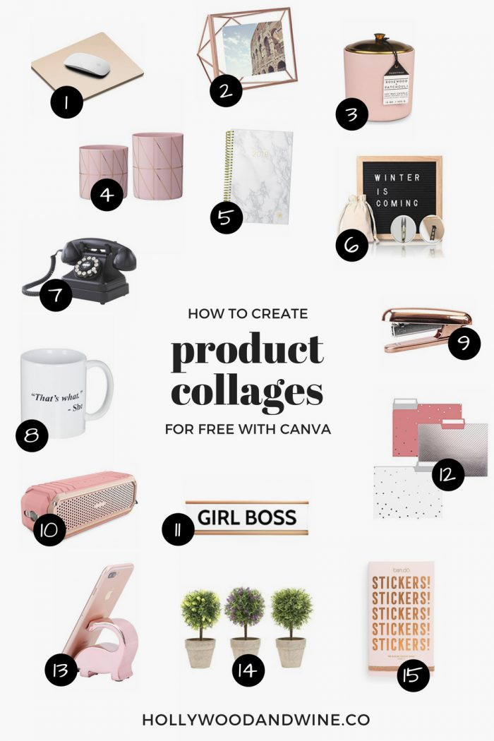 How to create a product collage with Canva