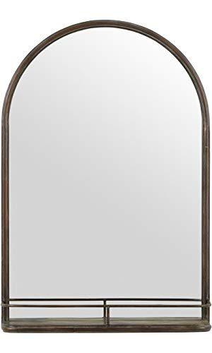 Mirror with shelf