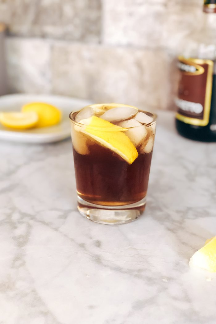'Sharp Objects' Amaretto Sour Cocktail