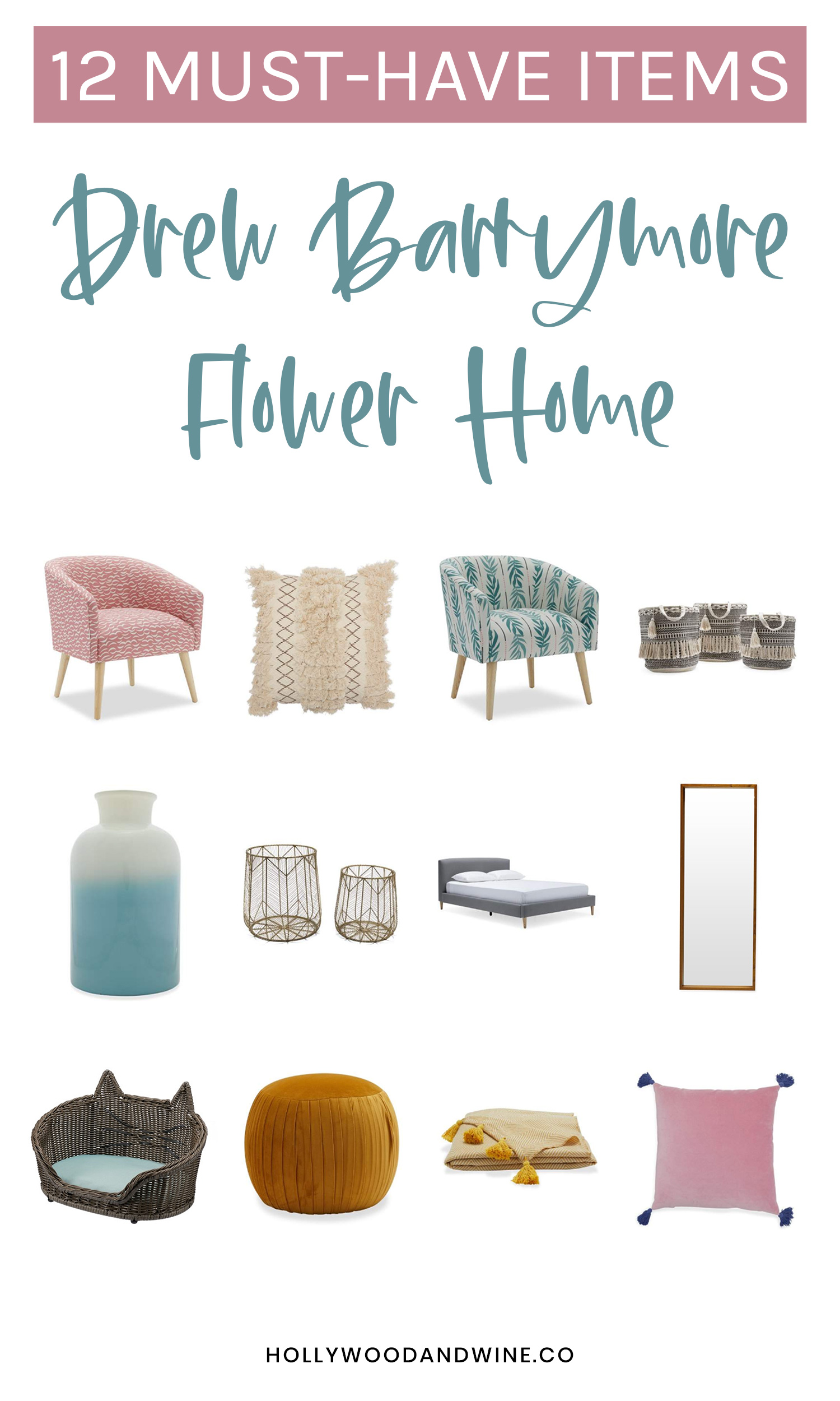 12 must-have items from the Drew Barrymore Flower Home Collection at Walmart