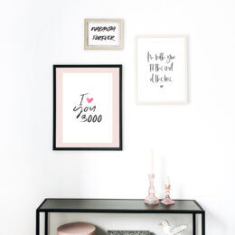 Free printable Marvel inspired quote art